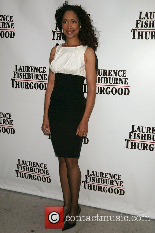 Gina Torres Opening Night of 'Thurgood' at the...