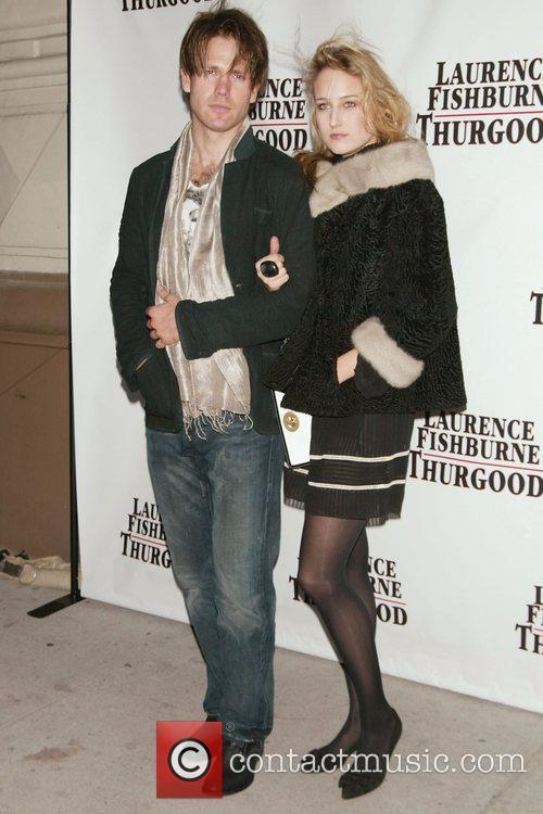 Leelee Sobieski and boyfriend Opening Night of 'Thurgood'...