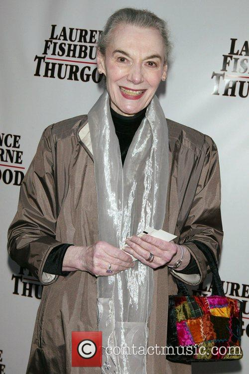 Marian Seldes Opening Night of 'Thurgood' at the...