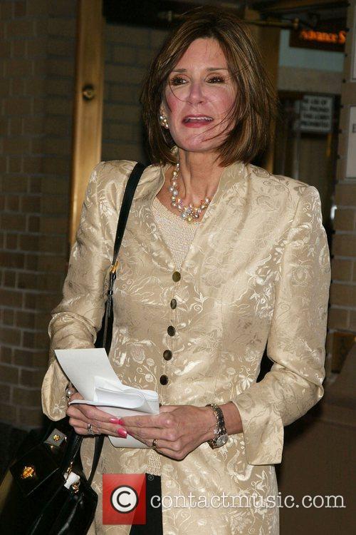 Mary Matalin Opening Night of 'Thurgood' at the...