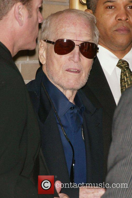 Paul Newman Opening Night of 'Thurgood' at the...
