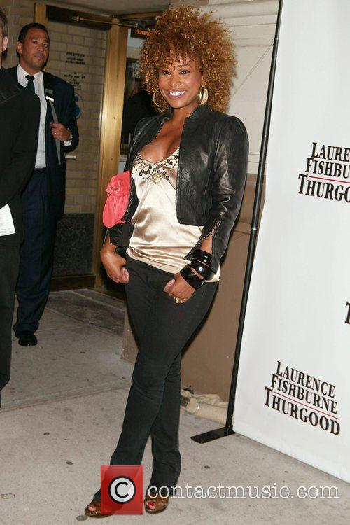 Tanika Ray Opening Night of 'Thurgood' at the...