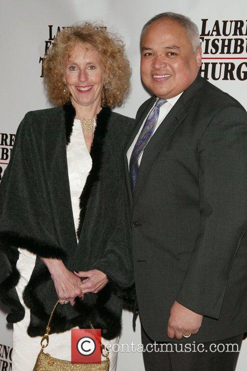 Teddi Levy and Thurgood Marshall Jr. Opening Night...