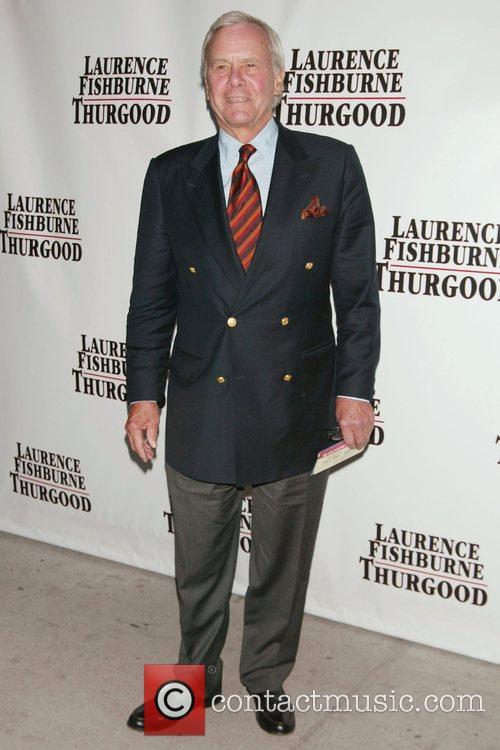 Tom Brokaw Opening Night of 'Thurgood' at the...
