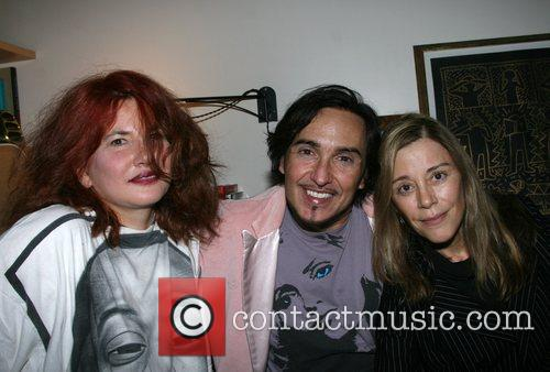 Tama Janowitz, Johnny Dynell and Paige Powell...