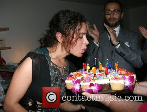 Tia Ciabani Tia Ciabani's birthday party at Kim...