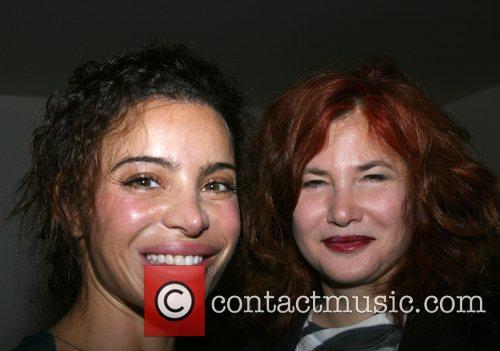 Tia Ciabani and Tama Janowitz Tia Ciabani's birthday...