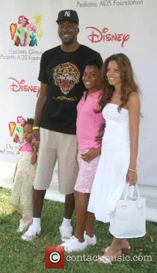 John Salley and family