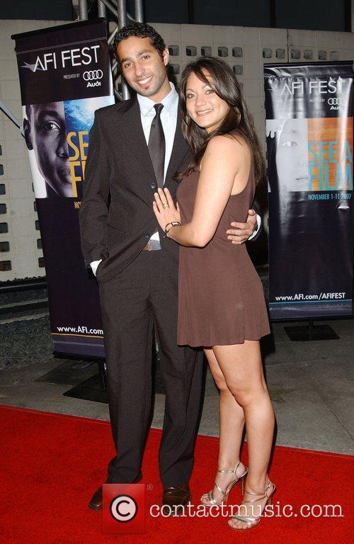 Humberto Buston and Elena Iguina AFI Festival 2007...