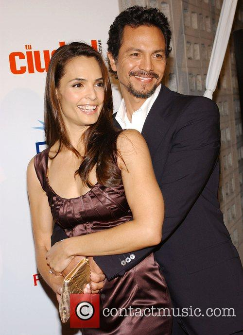 Talisa Soto and Benjamin Bratt 1