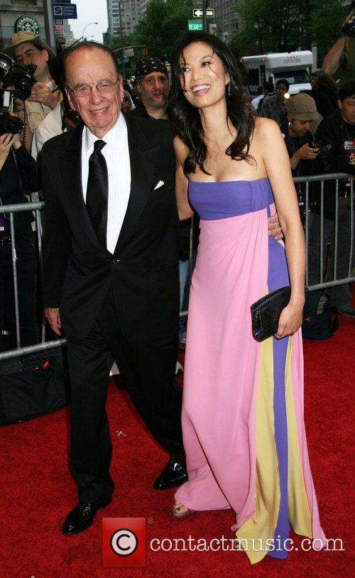 Rupert Murdoch and His Wife Wendi Deng 3