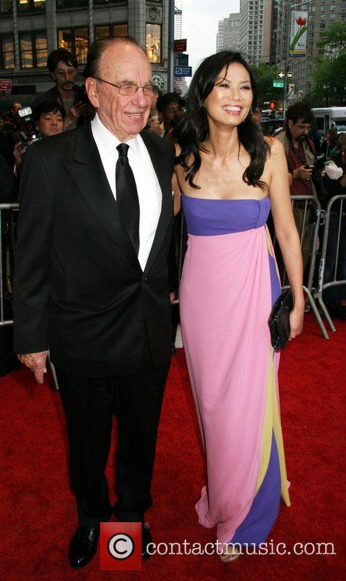 Rupert Murdoch and His Wife Wendi Deng 4