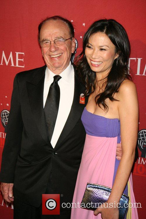 Rupert Murdoch and Wendy Deng 6