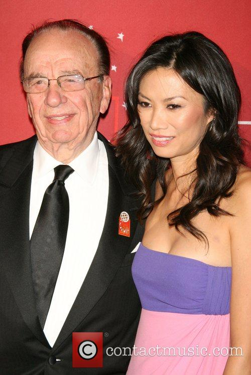 Rupert Murdoch and Wendy Deng 1