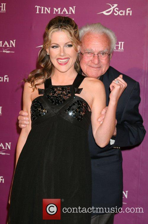 Kathleen Robertson and Robert Halmi Sr 'Tin Man'...