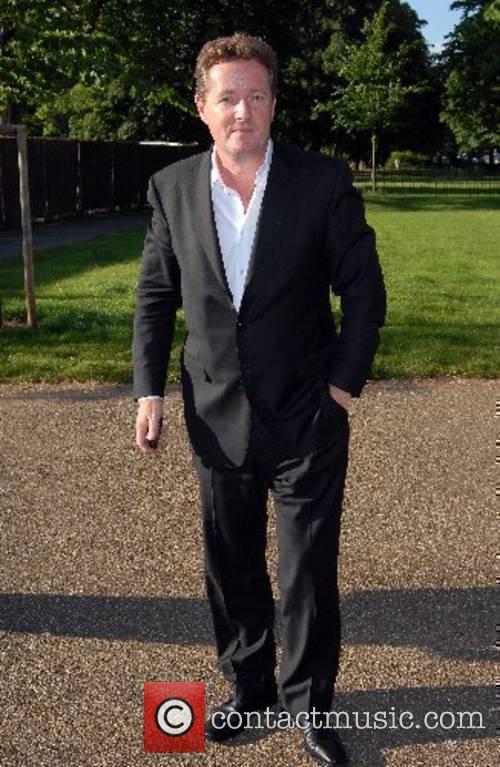 Piers Morgan Tina Brown - book launch party...