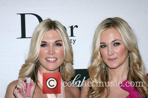 Tinsley Mortimer and Dabney Mercer Dior Beauty Ambassador...
