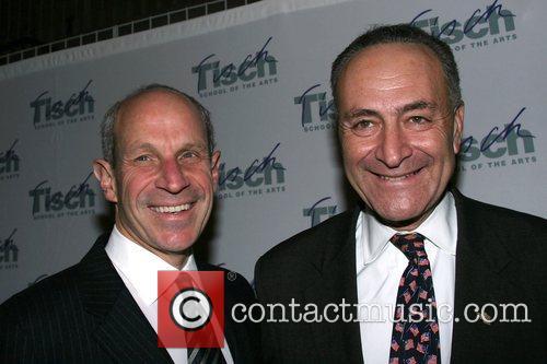 Senator Chuck Schumer and Jonathan Tisch Tisch School...