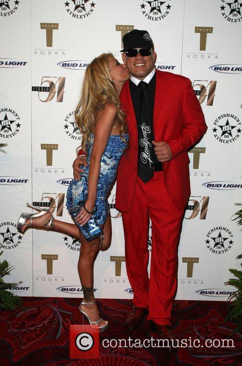 Jenna Jameson and Tito Ortiz Attends the 'Tito...
