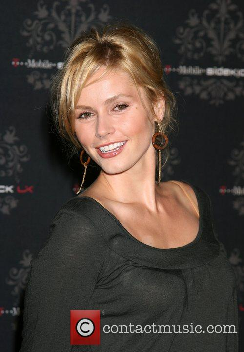 Brianna Brown T-Mobile Sidekick LX Launch Event held...