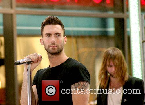 Maroon 5 performs Live on NBC's The Today...