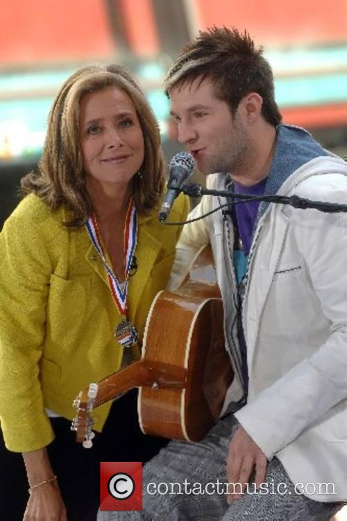 American Idol's runner up Blake Lewis and Meredith...