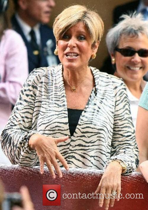 Suze Orman at The Today Show's Concert Series...
