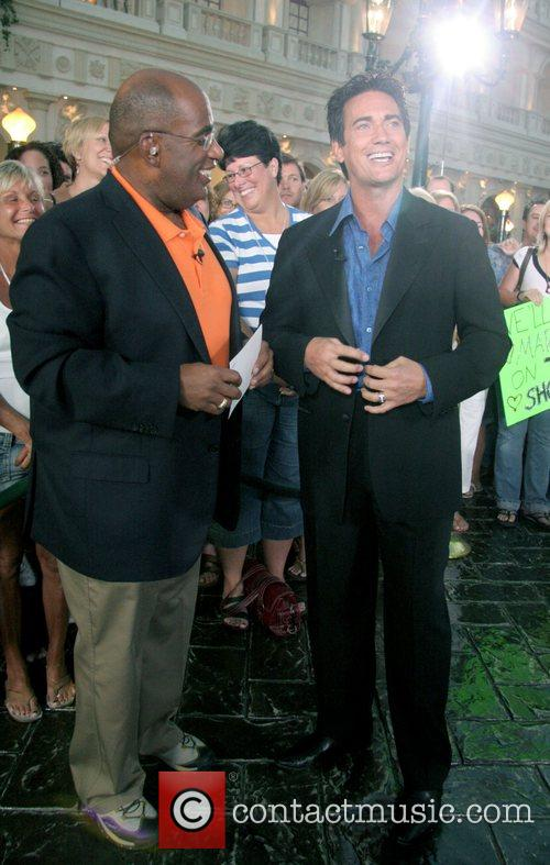 Al Roker and Gordie Brown  NBC'S Today...