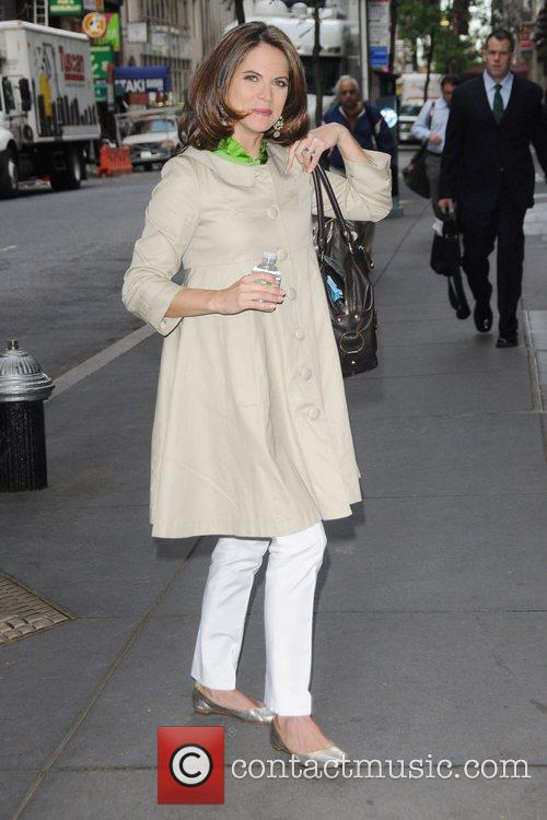 Celebrities arriving at 'The Today Show'