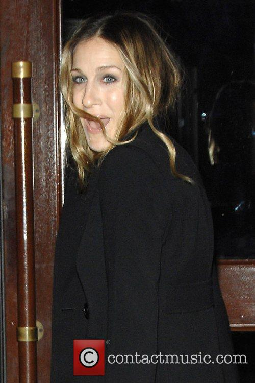 Sarah Jessica Parker arrives at the special screening...