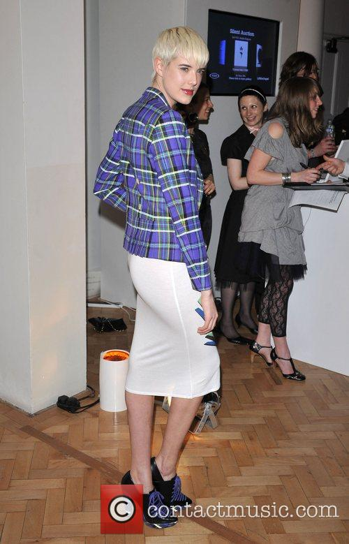 Agyness Deyn TOD's Art and Film Party held...