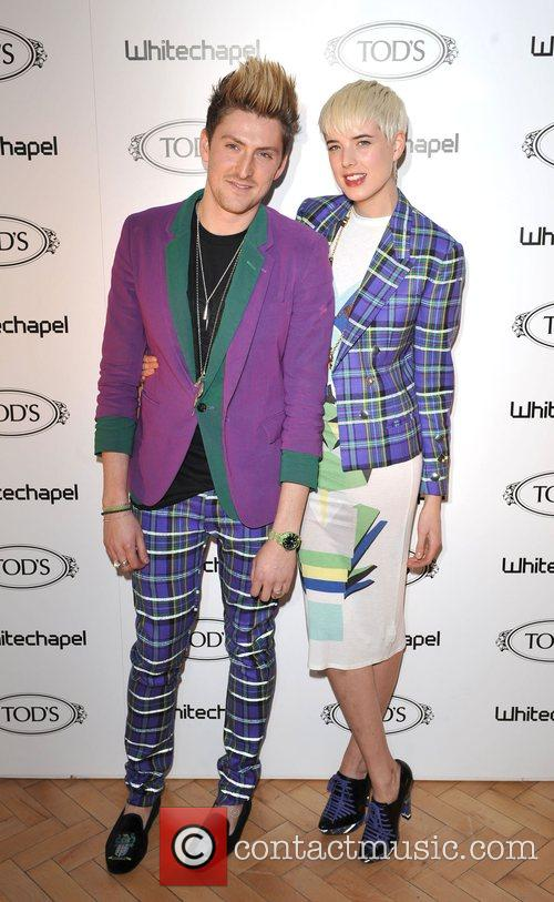 Agyness Deyn and Henry Holland TOD's Art and...