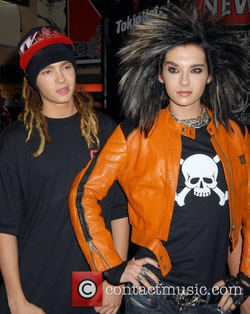 Of the German band Tokio Hotel at an...