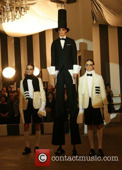 Mercedes-Benz Fashion Week Fall 2008 - Tom Brown...