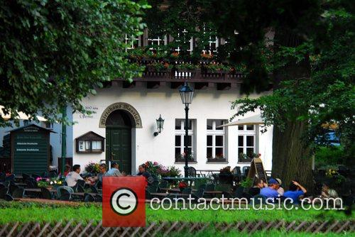 Wirtshaus Moorlake restaurant where Tom Crusie is filming...