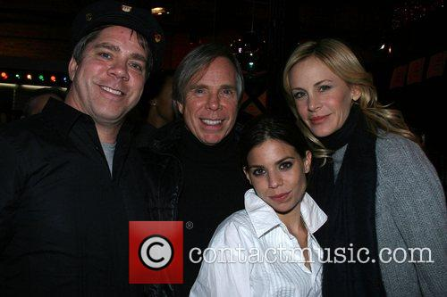 Andy Hilfiger, Tommy Hilfiger, Ali, and Dee Ocleppo...