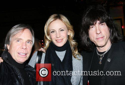 Tommy Hilfiger, Dee Oclepp and Marky Ramone Tommy...