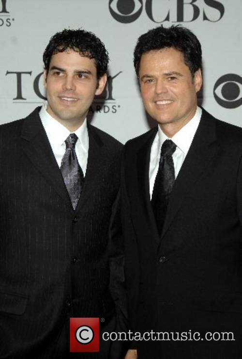 Donny Osmond and his son 2007 Tony Awards...