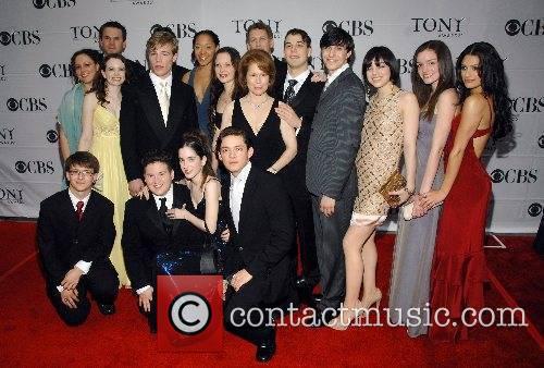 Cast of Spring Awakening 2007 Tony Awards held...