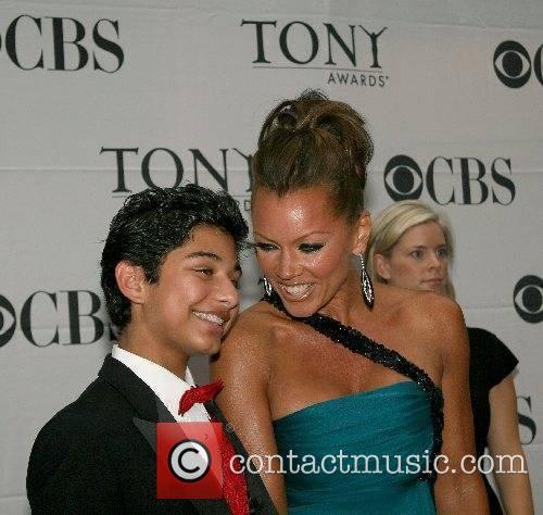 Vanessa Williams and Mark Indelicato 2007 Tony Awards...