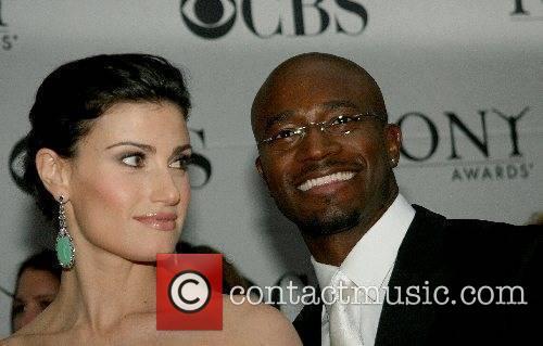 Idina Menzel and Taye Diggs 2007 Tony Awards...