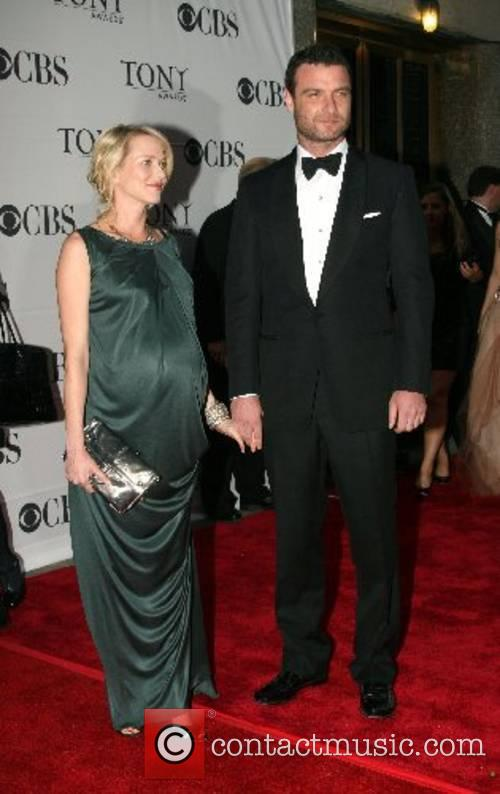 Naomi Watts and Liev Schreiber 2007 Tony Awards...