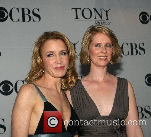 Felicity Huffman and Cynthia Nixon 2007 Tony Awards...