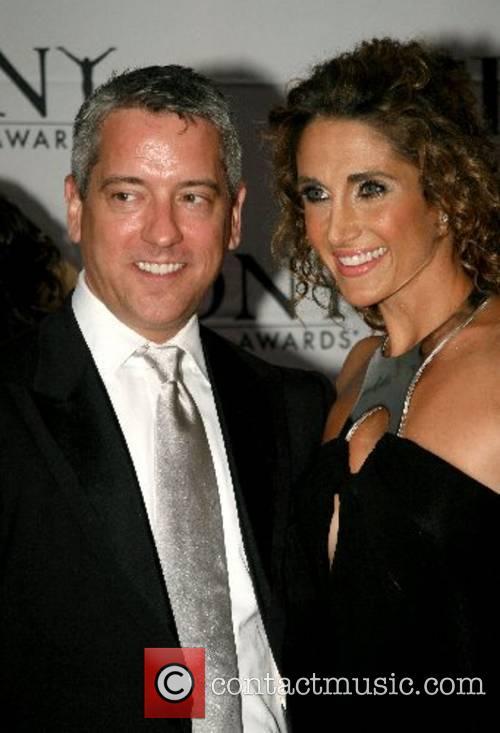 Melina Kanakaredes and guest 2007 Tony Awards held...