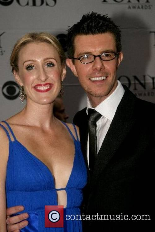 Gavin Lee and guest 2007 Tony Awards held...