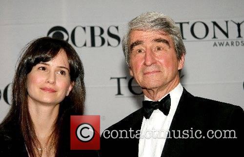 Sam Waterston and guest 2007 Tony Awards held...