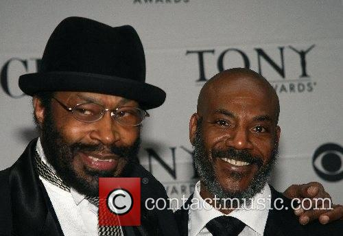 Anthony Chisholm and guest 2007 Tony Awards held...
