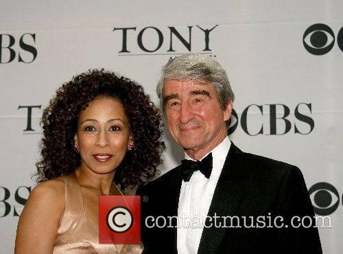 Sam Waterston and Tamara Tunie 2007 Tony Awards...