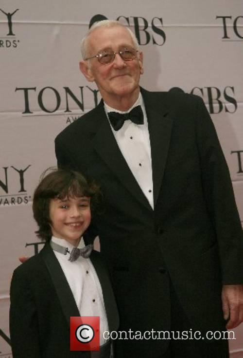 John Mahoney and guest 2007 Tony Awards held...