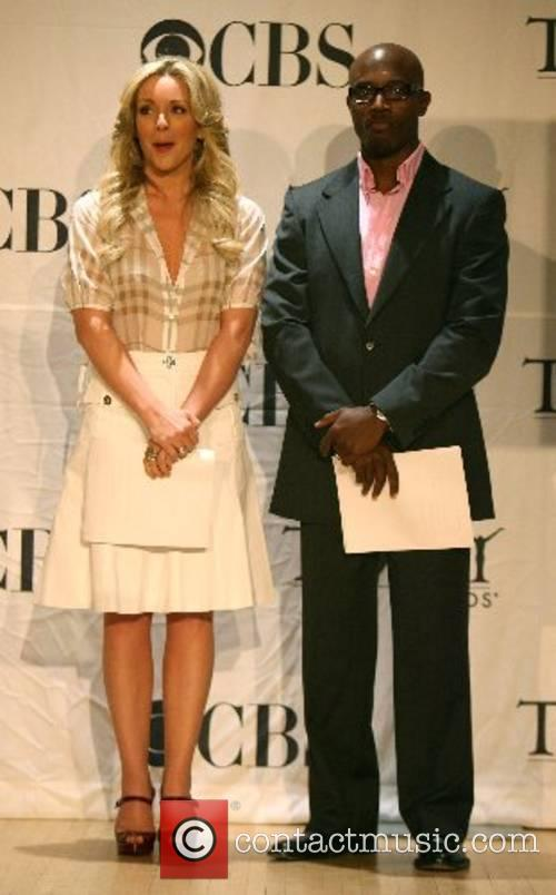 Jane Krowoski and Taye Diggs The American Theatre...